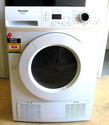 Baumatic 7kg Condenser Clothes DRYER BCD71 *PICK UP CLONTARF QLD 4019