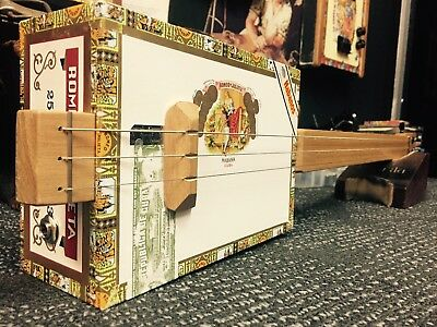 Buzz Box Cigar Box Guitar