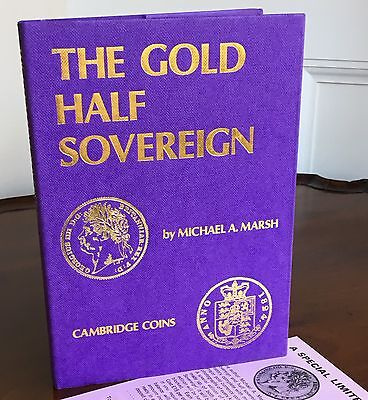 Book: The Gold Half Sovereign, M. Marsh. For Serious Collector/Investor
