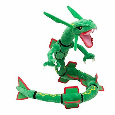 "31"" Pokemon Center Soft Plush Doll Rayquaza Figure Stuffed Animal Toy Kids Gift"