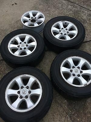 Toyota Prado 17 Inch Wheels And Tyres