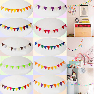Hot 12 Flags Banner Home Decorations Bunting Party Supplies Birthday Party