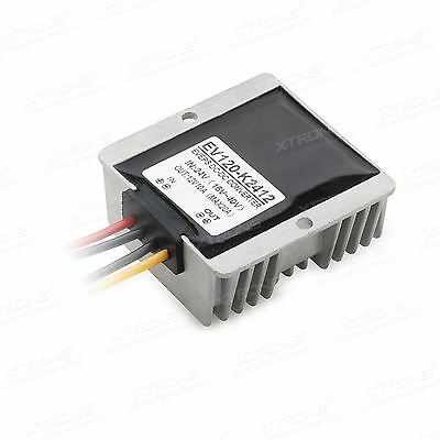 XTRONS C24T12 DC 24V to 12V Step Down Regulator Power Supply Voltage Converter