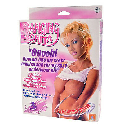 Banging Bonita Inflatable Blow Up Doll Stag Do / Birthday Parties