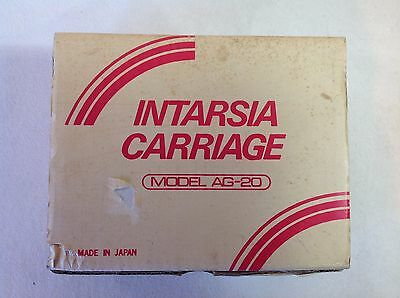 Intarsia Carriage - Model AG-20 - Singer - For Knitting Machine- Argyle Patterns