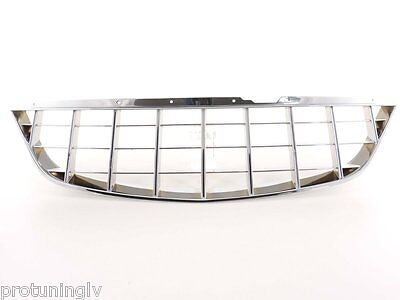 Opel Vauxhall Corsa D CHROME grill opc irmscher badgeless debadged sport GSI rs