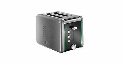 Russell Hobbs Colour Control 2 Slice Stainless Steel Toaster - 20170AU