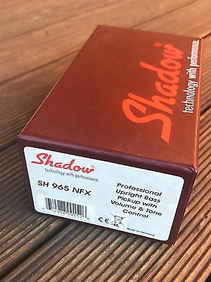 Shadow SH 965 NFX Upright Bass Pickup/Preamp with Volume & Tone Control
