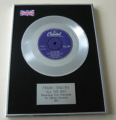 FRANK SINATRA All The Way PLATINUM Single DISC Presentation
