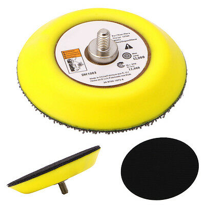 "3"" 75MM Polishing Sander Backer Plate Napping Hook Loop Sanding Disc Pad New"
