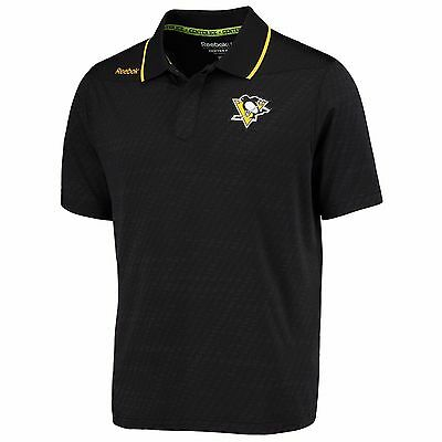 Adults Small Pittsburgh Penguins Center Ice Travel Polo M21
