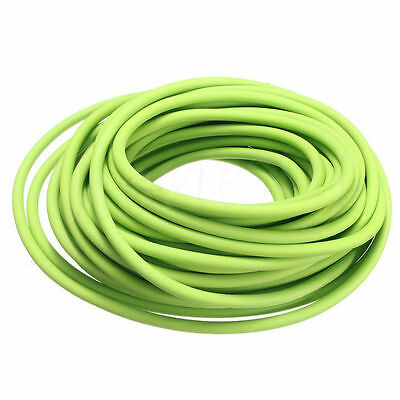 1/3/5M Tubing Exercise Rubber Resistance Band Catapult Dub Elastic Outdoor Green