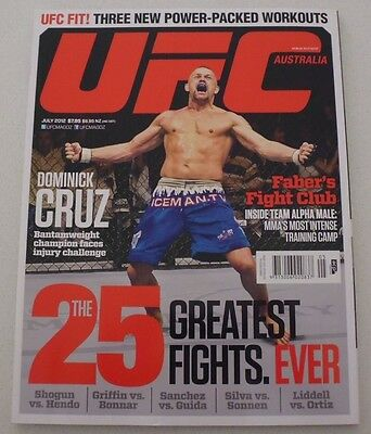 Ufc Magazine Australia - July 2012 Issue, Chuck Liddell Front Cover (Brand New)