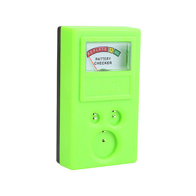 Watch Cell 3v CR Battery Power Volt Tester Checker CR2016 CR1616 Green