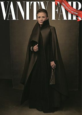 Star Wars The Last Jedi Poster Vanity Fair Cover Carrie Fisher Princess Leia