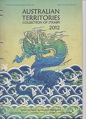 2012 AUSTRALIAN TERRITORIES Collection of Stamps - STUNNING Collection