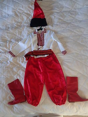 Ukrainian traditional folk dance costume for boys