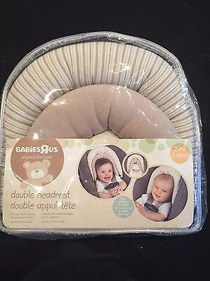 Baby Double Head Support Protector Pillow
