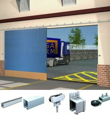 Sliding Door Kit for Garage, Barn, Industrial, Workshop Door Heavy Duty 80kg