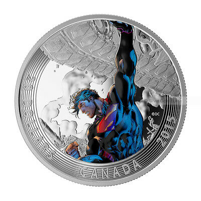 1 oz 2015 Iconic Superman™ Comic Book Covers | Superman™ Unchained #2 Silver