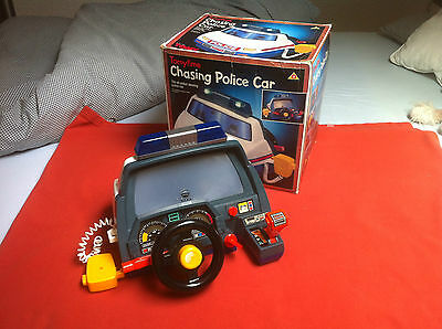 Tomy Police Car Cockpit Fahrsimulator