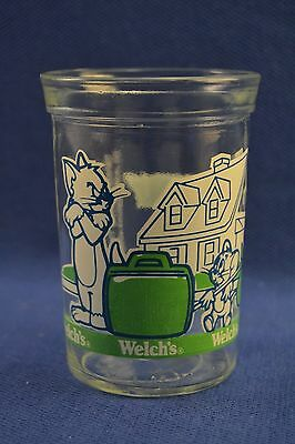 Vintage 1993 Welch'S Jelly Tom And Jerry The Movie Juice Glass Jar