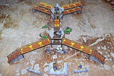 Industry of War Multi Level Battle Terrain Warhammer Warlord Mantic Wargame