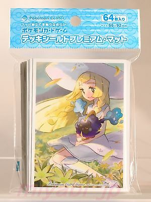 Pokemon Shield Lillie & Cosmog Premium mat Card Game Sleeves TCG CCG MTG