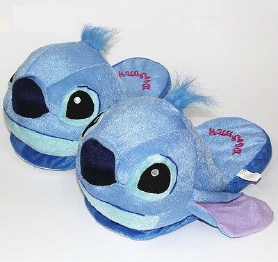 Anime Cartoon Stitch Home Plush Slippers House Winter Indoor Shoes pantofole