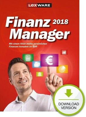 Lexware FinanzManager 2018 / Windows-PC / Dauerlizenz / Download-Lizenz / KEY