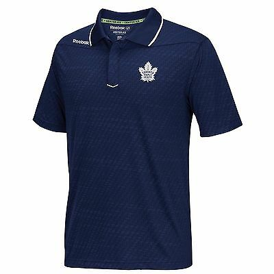 Adults Small Toronto Maple Leafs Center Ice Travel Polo M25