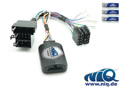 XOMAX CAN-BUS Lenkrad Fernbedienung Adapter Fiat UNO Bj. ab 2015
