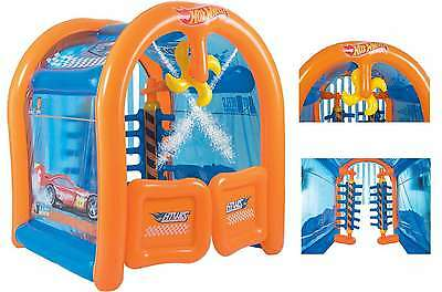 Water Inflatable Toy For Outdoor Play Fun Kids Play Hotwheels Car Wash Center