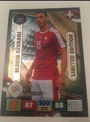 BLERIM DZEMAILI SCHWEIZ Limited Edition Panini Road to Moscow 2018