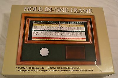 Hole In One Golf Trophy Shadow Box For Golf Ball 9995 Picclick