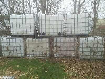 275 Ga IBC Tote Food Grade Plastic Water/oil Container Poly Tank (4 available)