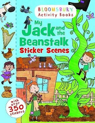 My Jack and the Beanstalk Sticker Scenes (Bloomsbury Activity Books) - New Book