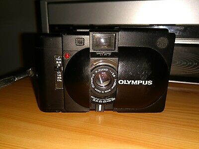 The Original Xa Olympus Zuiko 2.8 35Mm Rangefinder