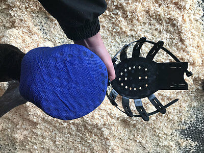 Vet-Strider (Equine Poultice Boot and Hoof Protector) Small/Black + 10 Ties