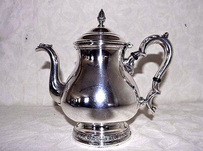 "Prelude International Sterling Silver.925 - 780 Gr. 10 Cup Teapot "" Not Scrap"""