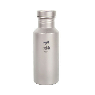 Keith 550ML  Titanium Outdoor  Water Bottle Camping Running Cycling Bottle