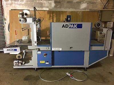 ADPAK Easy 700 - Semi Automatic Sleeve Sealer and Shrink Tunnel