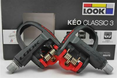 Look Keo Classic 3 schwarz rot Rennrad Klickpedale LIMITED EDITION - NEU