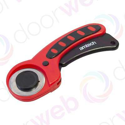 45MM ROTARY CUTTER Hand Tool Comfort Grip Sewing Quilting Blade Hobby Craft