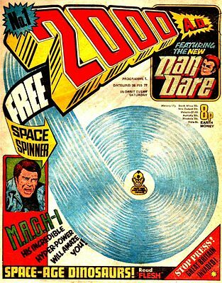 2000AD Digital Comic Collection 0000-2030+STARLORD