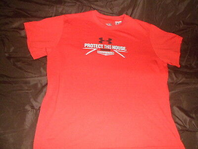 "Under Armour Boy's Baseball""protect This House"" Heatgear Size Large"