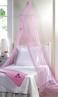 Pink Butterfly Bed Canopy ** Nib