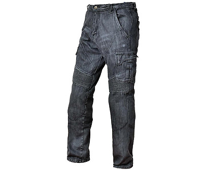 Motorcycle Denim Black Armored Riding Pants Jeans, Renegade, Xelement, Many Size