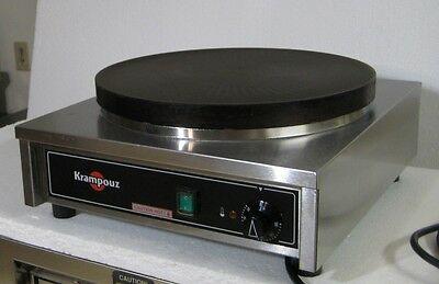 Krampouz Electric Crepe Griddle Square Base Cecif4 Cecif40At - Great Cond!
