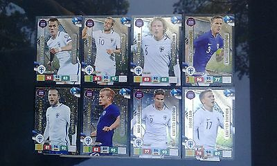 Adrenalyn XL Road to Russia 2018, Limited Edition Finland, all 8 cards, complete